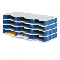 Třídící moduly, 12 přihrádek, modrá