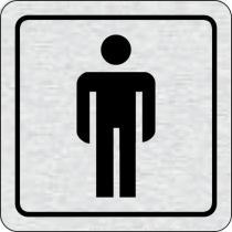 Cedulka na dveře - Wc muži