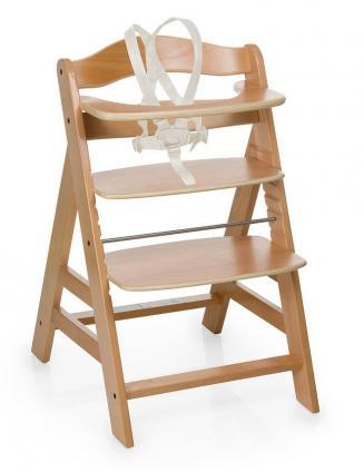 Jídelní židličky HAUCK Hauck Alpha+ 2019 židlička dřevěná natur