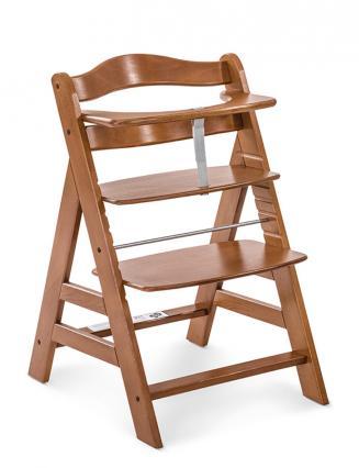 Jídelní židličky HAUCK Hauck Alpha+ 2019 židlička dřevěná ořech
