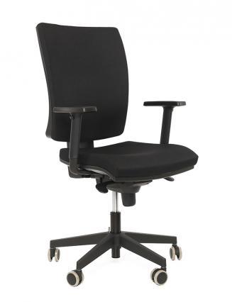 Kancelářské židle Alba Kancelářská židle Lara VIP černá bez podhlavníku