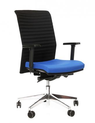 Kancelářské křeslo Alba Kancelářské křeslo REFIRE modrý