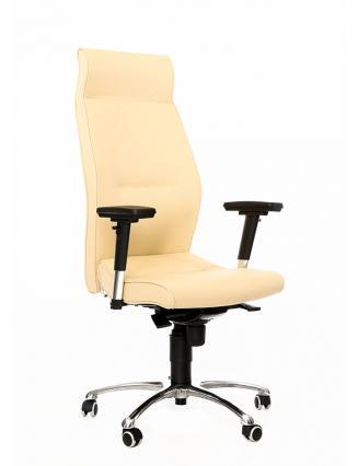 Kancelářské židle Antares Kancelářské křeslo 1800 Lei krémová kůže