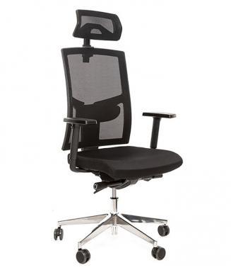 Kancelářské židle Alba Kancelářská židle Game šéf VIP Černá
