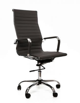Kancelářské křeslo Sedia Kancelářské křeslo Q040 černá koženka