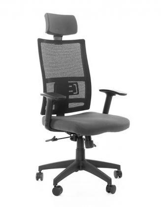 Kancelářské židle Antares Kancelářská židle Mija šedá