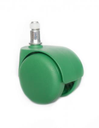 Náhradní díly Plastové kolečko CD 50 zelené 50 mm (sada 5 ks)