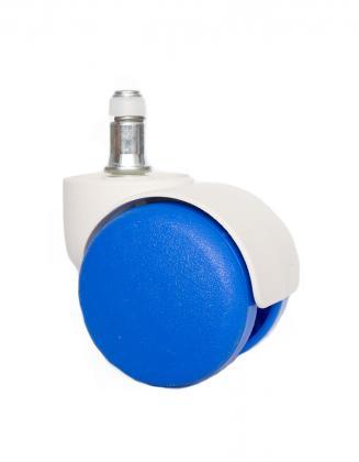 Náhradní díly Plastové kolečko CB 50 modré 50 mm (sada 5 ks)