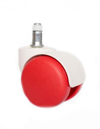 Náhradní díly Plastové kolečko CB 50 červené 50 mm (sada 5 ks)