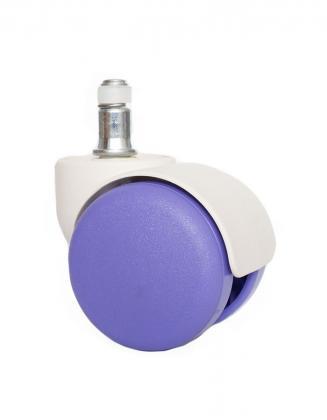 Náhradní díly Plastové kolečko CB 50 fialové 50 mm (sada 5 ks)
