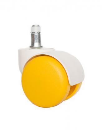 Náhradní díly Plastové kolečko CB 50 žluté 50 mm (sada 5 ks)