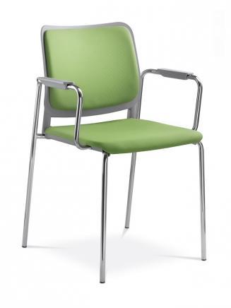 Konferenční židle - přísedící LD Seating Konferenční židle Time 172/B-N4