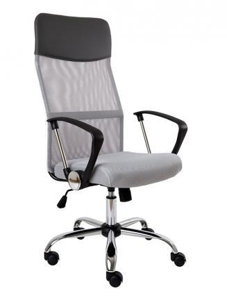 Kancelářské křeso Alba Kancelářská židle MEDEA šedá