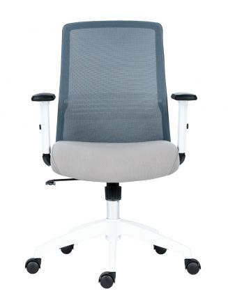 Kancelářské židle Antares Kancelářská židle Novello WHITE šedá