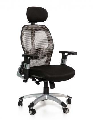 Kancelářské židle Peška Kancelářské křeslo Merkur Eco šedá