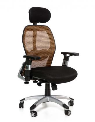 Kancelářské židle Peška Kancelářské křeslo Merkur Eco oranžová