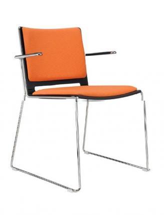 Konferenční židle - přísedící Sedileta Konferenční židle FILO + područky čalouněná