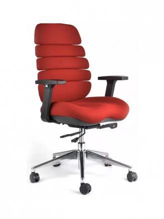Kancelářské židle Node Kancelářská židle SPINE červená