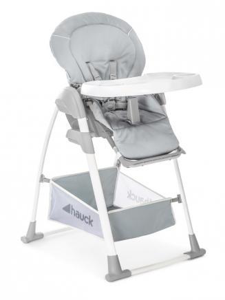 Jídelní židličky HAUCK Hauck Sit N Relax 3v1 jídelní židlička strečová šedá