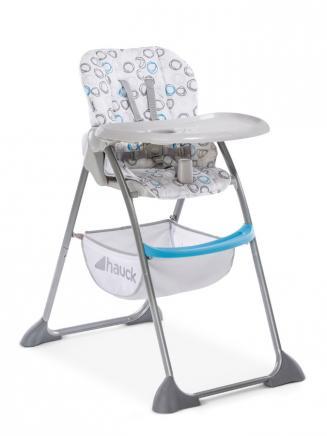 Jídelní židličky HAUCK Hauck Sit N Fold jídelní židlička circles blue