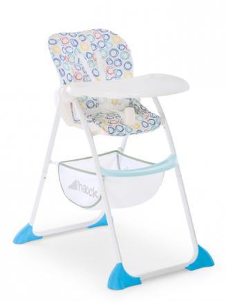 Jídelní židličky HAUCK Hauck Sit N Fold jídelní židlička circles multi