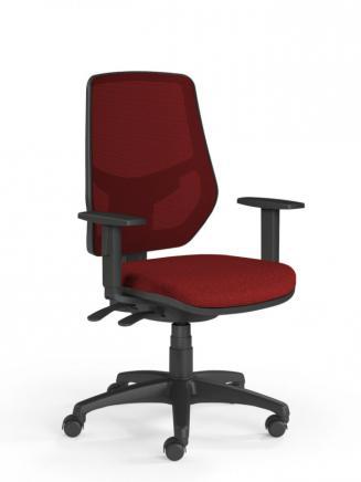 Kancelářské židle Emagra Kancelářská židle LEX 230/B vínová