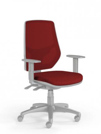 Kancelářské židle Emagra Kancelářská židle LEX 230/BG vínová