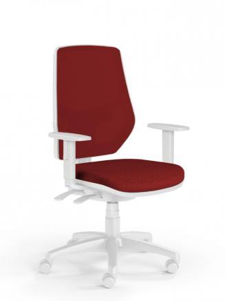 Kancelářské židle Emagra Kancelářská židle LEX 230/BW vínová