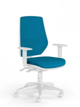 Kancelářské židle Emagra Kancelářská židle LEX 230/BW modrá
