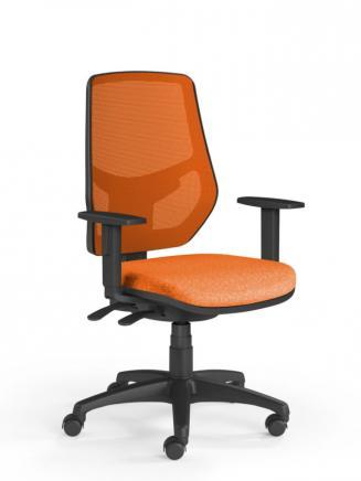 Kancelářské židle Emagra Kancelářská židle LEX 230/B oranžová