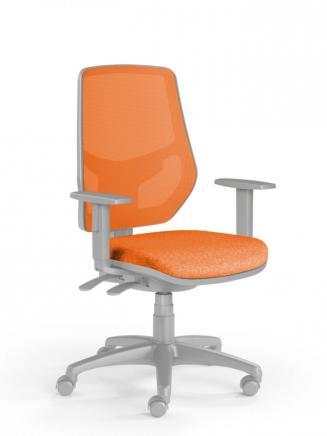 Kancelářské židle Emagra Kancelářská židle LEX 230/BG oranžová