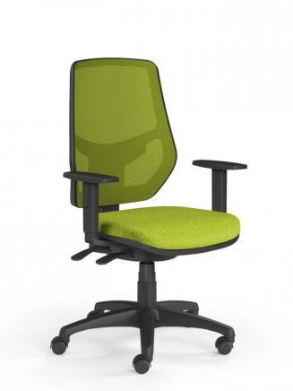 Kancelářské židle Emagra Kancelářská židle LEX 230/B zelená