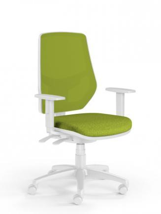 Kancelářské židle Emagra Kancelářská židle LEX 230/BW zelená