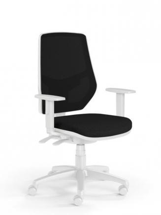 Kancelářské židle Emagra Kancelářská židle LEX 230/BW černá
