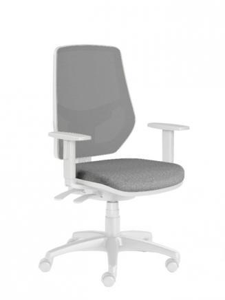 Kancelářské židle Emagra Kancelářská židle LEX 230/BW šedá