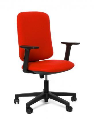 Kancelářské židle Emagra Kancelářská židle EVE červená