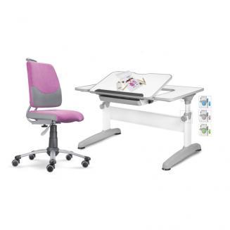 Sety stolů a židlí Mayer dětský set Actikid A3 růžový Uniq