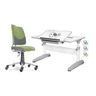 Sety stolů a židlí Mayer dětský set Actikid A3 zelený Uniq