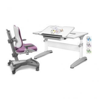 Sety stolů a židlí Mayer dětský set MyChamp růžový Uniq