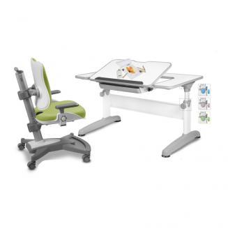 Sety stolů a židlí Mayer dětský set MyChamp zelený Uniq
