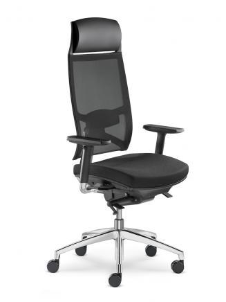 Kancelářské křeslo LD Seating Kancelářské křeslo Storm 555-N2-TI