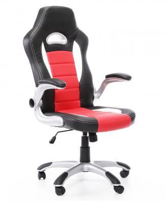 AUTRONIC Kancelářská židle KA-E240 RED