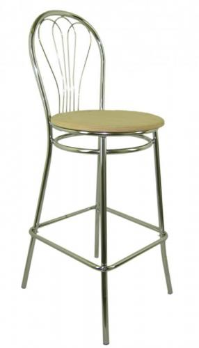 Barové židle Sedia - Barová židle Venus Hocker dřevo černá