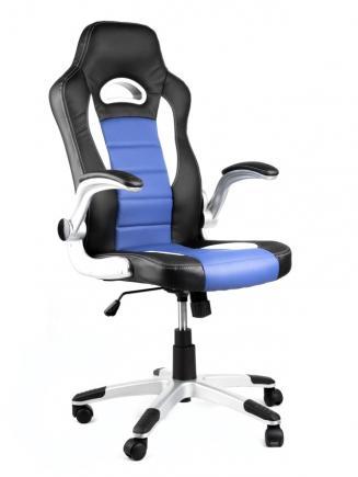Kancelářské křeslo NODE - Kancelářské křeslo LOTUS černo-modré