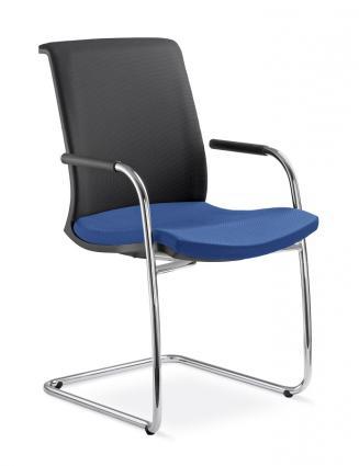 Kancelářské židle LD Seating Konferenční židle LYRA NET 204-KZ