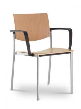 Konferenční židle - přísedící LD Seating Konferenční židle Seance 092-K