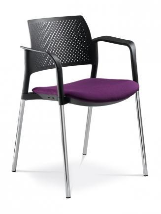 Konferenční židle - přísedící LD Seating Konferenční židle Dream+ 100-BL