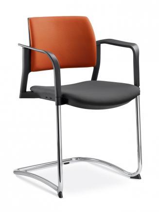 Konferenční židle - přísedící LD Seating Konferenční židle Dream+ 104-BL