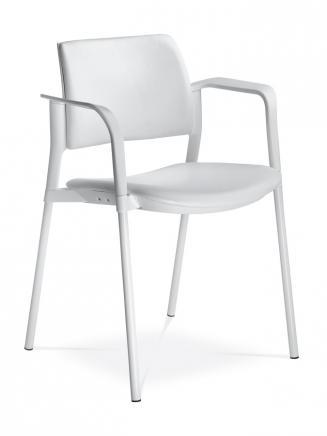 Konferenční židle - přísedící LD Seating Konferenční židle Dream+ 103-WH