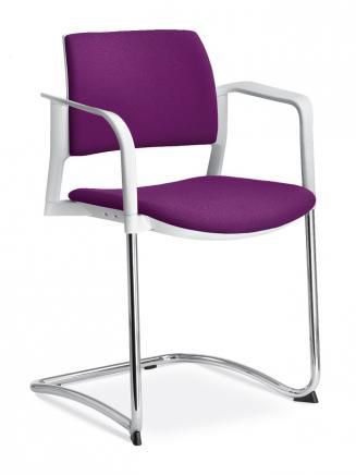 Konferenční židle - přísedící LD Seating Konferenční židle Dream+ 104-WH
